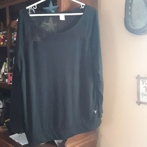 Old Navy Black Long Sleeve Active Top